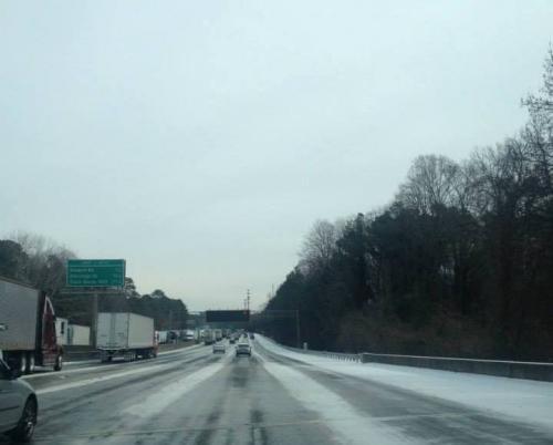 Cold Blast Heads To Metro Atlanta