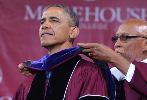 The Sidney Wood Show: President Obama Speaks At Morehouse College
