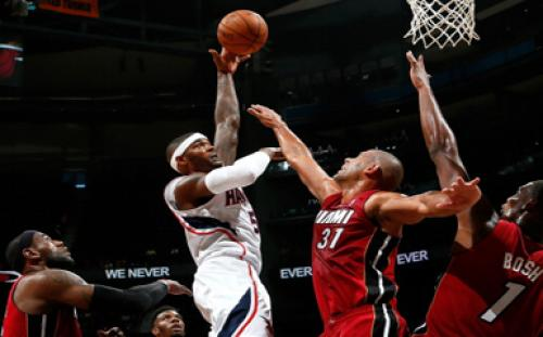 The Sports Kings: Hawks Win Preseason Opener 92-79