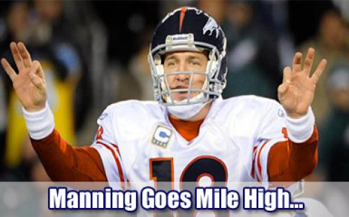The Sports Kings: Manning Will End Tebowmania…