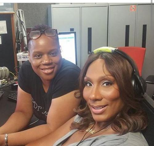Towanda Braxton takeover on DryerBuzz