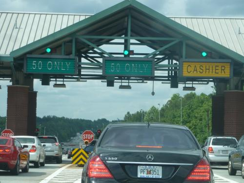 Traffic Picks Up On Georgia 400 After End Of Tolls